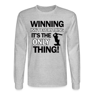 cricket wining tee - Men's Long Sleeve T-Shirt