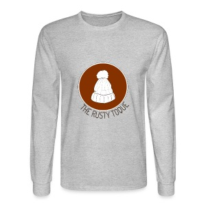 The Rusty Toque Brown Logo 2 - Men's Long Sleeve T-Shirt