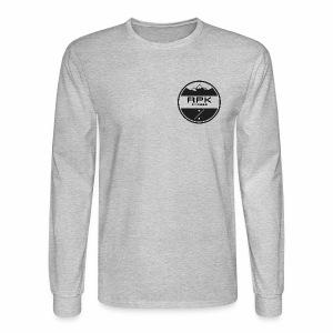 RPK Fit White - Men's Long Sleeve T-Shirt