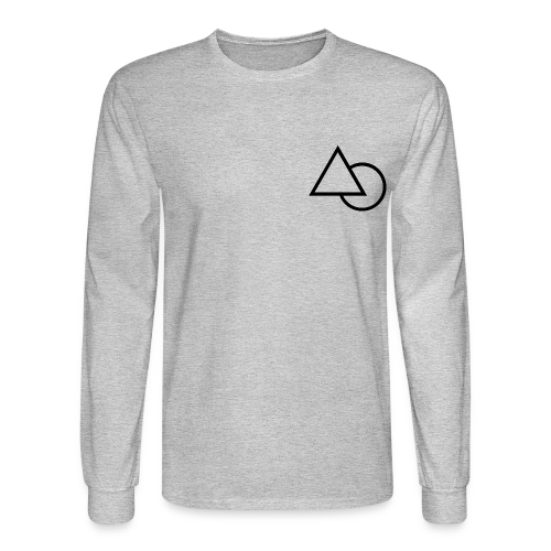 Symbiote Triangle Clothe - Men's Long Sleeve T-Shirt