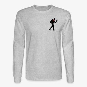 BOR - rocking scout black - Men's Long Sleeve T-Shirt