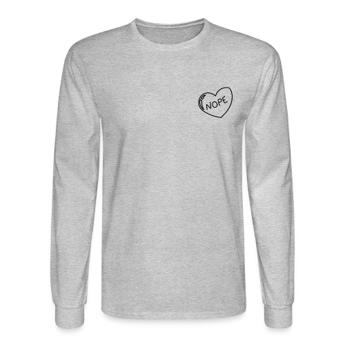 nope. - Men's Long Sleeve T-Shirt