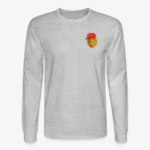 maga potato logo - Men's Long Sleeve T-Shirt