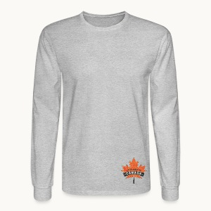 I WAS MADE IN CANADA -Linen -Carolyn Sandstrom - Men's Long Sleeve T-Shirt