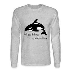 End Captivity - Men's Long Sleeve T-Shirt