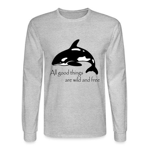 End Captivity - Men's Long Sleeve T-Shirt