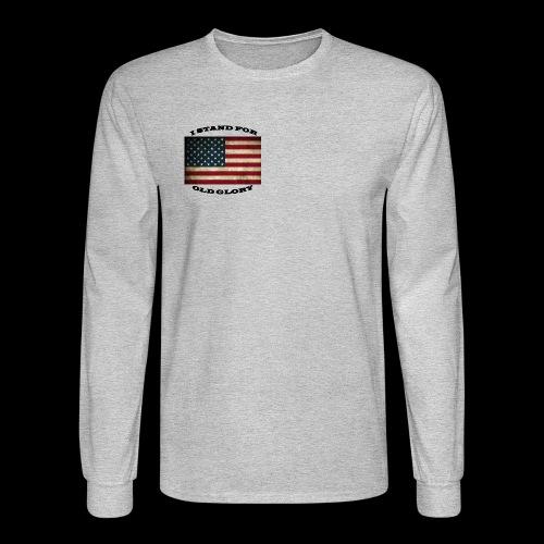 FLAG1 - Men's Long Sleeve T-Shirt