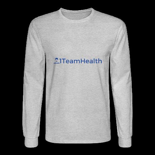 1TeamHealth Simple - Men's Long Sleeve T-Shirt