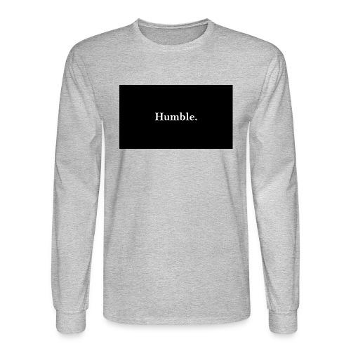 Humble. - Men's Long Sleeve T-Shirt