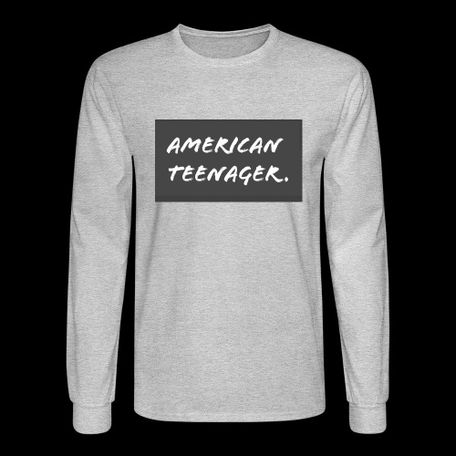 American Teenager. - Men's Long Sleeve T-Shirt