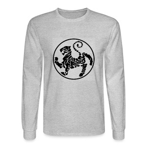 Shotokan-Tiger_black - Men's Long Sleeve T-Shirt