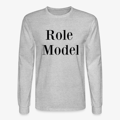 Role Model - Men's Long Sleeve T-Shirt