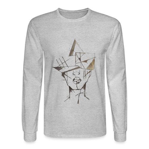 thinking - Men's Long Sleeve T-Shirt