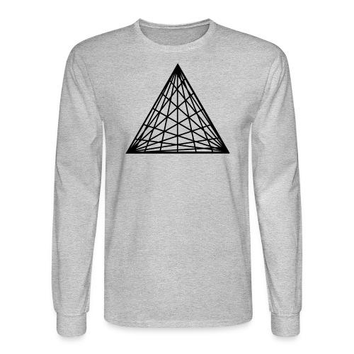 Triangles - Men's Long Sleeve T-Shirt