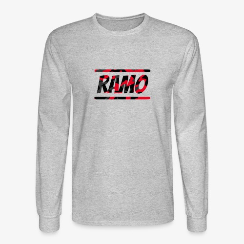 Ramo Red Camo - Men's Long Sleeve T-Shirt