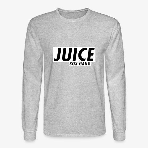 JBG white on black - Men's Long Sleeve T-Shirt