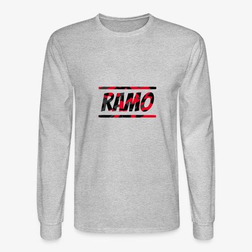 Ramo Red Camo - Men's Long Sleeve T-Shirt