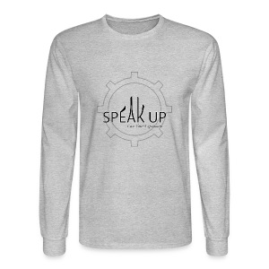 speak up logo 1 - Men's Long Sleeve T-Shirt