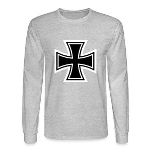 1200px German Cross svg - Men's Long Sleeve T-Shirt