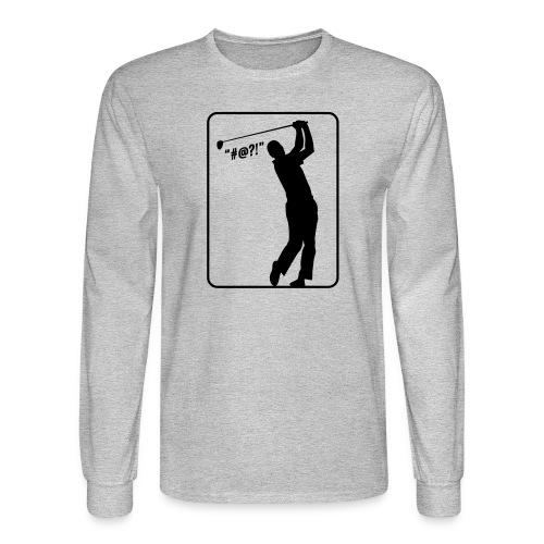 Golf Shot #@?! - Men's Long Sleeve T-Shirt