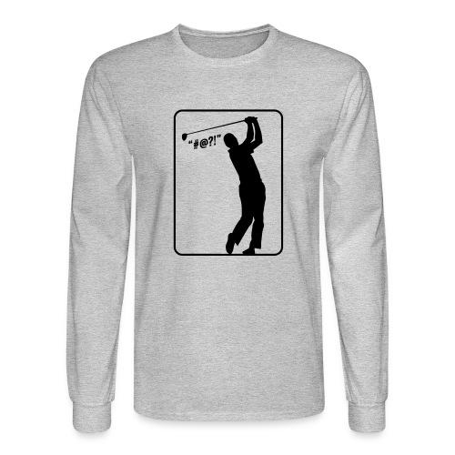 Golf Shot #@?! - Men's Long Sleeve T-Shirt