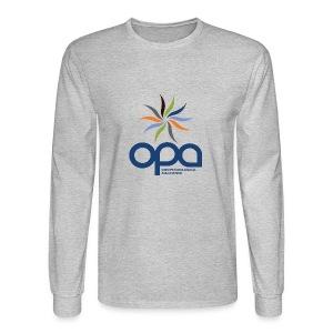 Long-sleeve t-shirt with full color OPA logo - Men's Long Sleeve T-Shirt