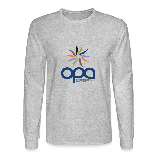 Long-sleeve t-shirt with full color OPA logo - Men's Long Sleeve T-Shirt