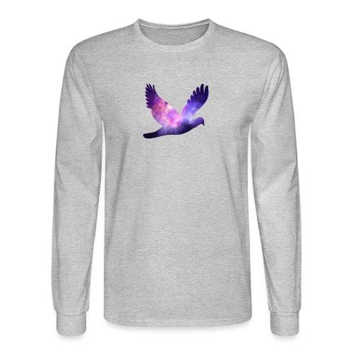 Galaxy bird - Men's Long Sleeve T-Shirt