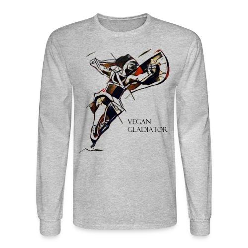 VEGAN GLADIATOR - Men's Long Sleeve T-Shirt
