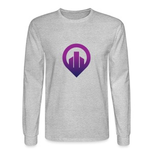 City - Men's Long Sleeve T-Shirt