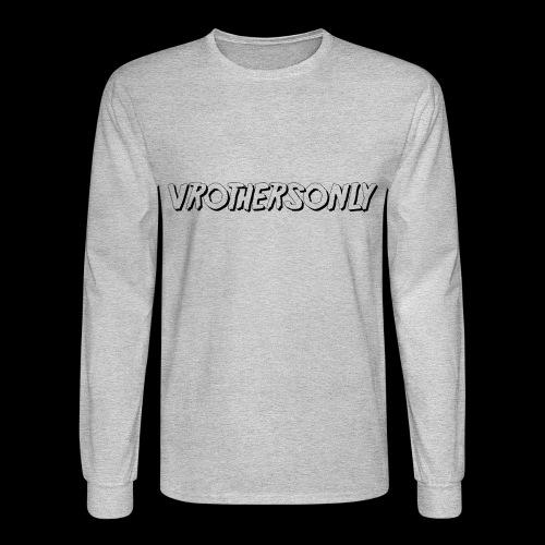 VR BLACK - Men's Long Sleeve T-Shirt