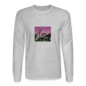 Pink Forest Gart - Men's Long Sleeve T-Shirt