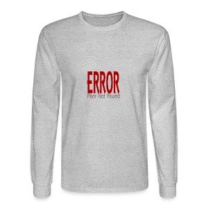 Oops There Is Something Missing! - Men's Long Sleeve T-Shirt