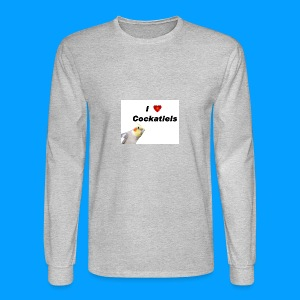 Cockatiels - Men's Long Sleeve T-Shirt