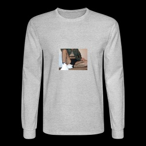 self modeled - Men's Long Sleeve T-Shirt