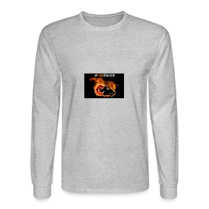 Fire_Fisher - Men's Long Sleeve T-Shirt