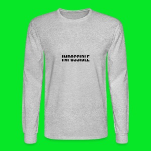 Impossible - Men's Long Sleeve T-Shirt