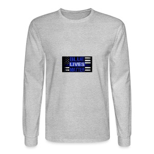 blue-lives-matter-membership-1-1024x538 - Men's Long Sleeve T-Shirt