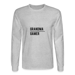 GrandmaGamer_Shirt - Men's Long Sleeve T-Shirt