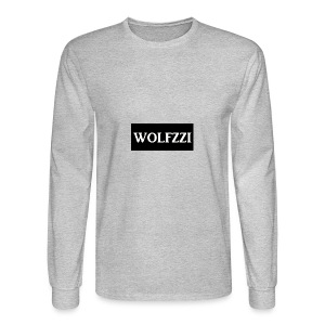 wolfzzishirtlogo - Men's Long Sleeve T-Shirt