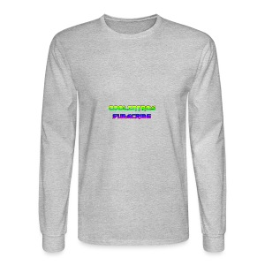 Cool Intros With Subscribe - Men's Long Sleeve T-Shirt