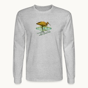 BIRDER - White-faced ibis - Carolyn Sandstrom - Men's Long Sleeve T-Shirt