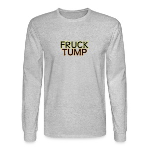 fruck tump - Men's Long Sleeve T-Shirt