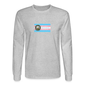 Transgender Navy - Men's Long Sleeve T-Shirt