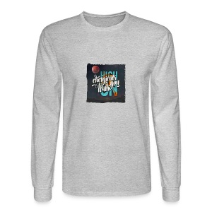 High On Chemicals With You - Men's Long Sleeve T-Shirt