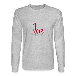 love my husband - Men's Long Sleeve T-Shirt