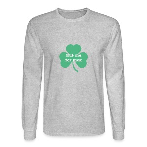 Rub me for luck - Men's Long Sleeve T-Shirt