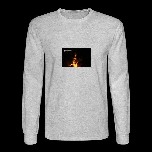 the flames - Men's Long Sleeve T-Shirt