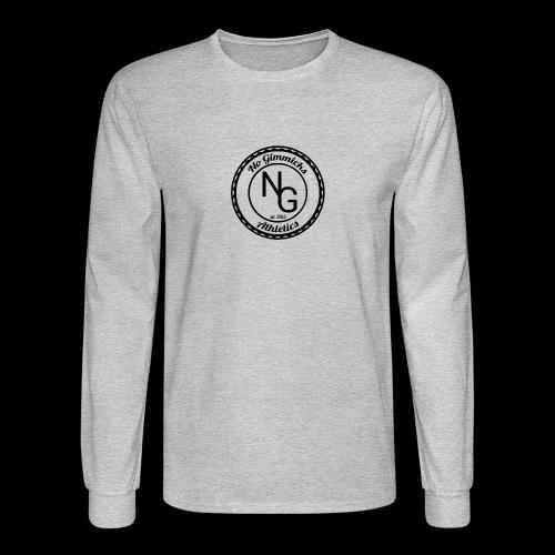 no gimmicks logo svart - Men's Long Sleeve T-Shirt