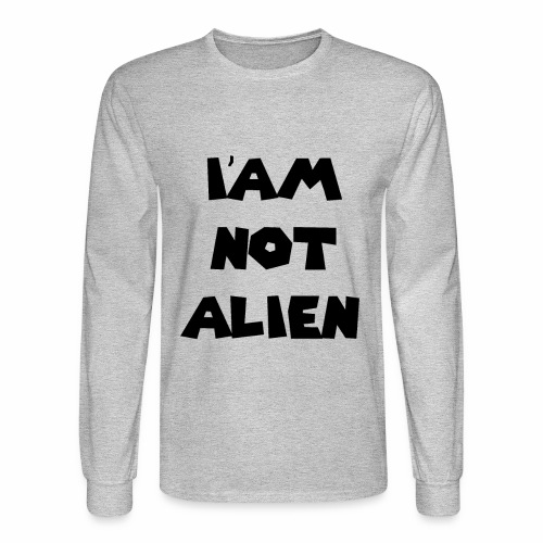 I'AM NOT ALIEN DEGSIN - Men's Long Sleeve T-Shirt